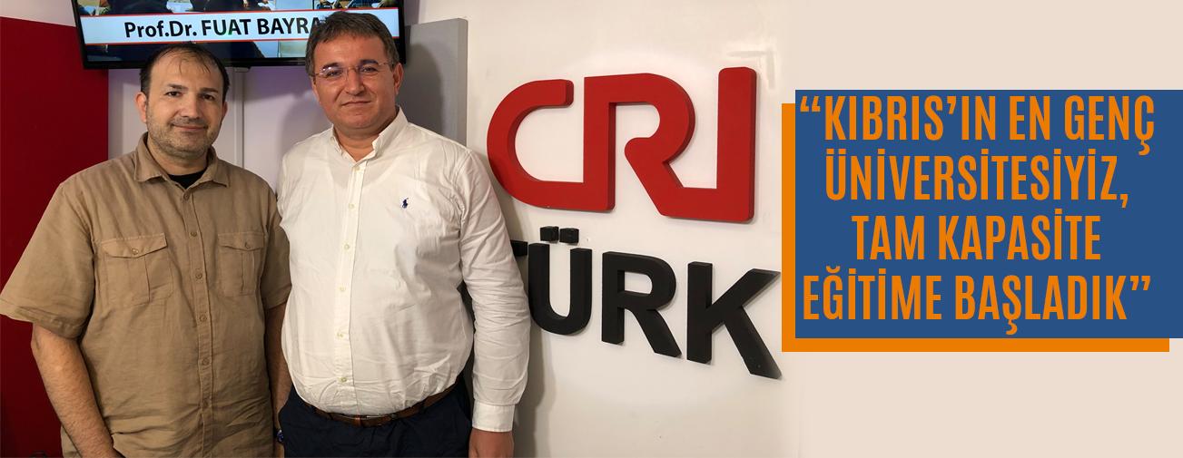 Prof. Dr. Fuat Bayram, Michael Kuyucu'ya Kıbrıs'ta Eğitimi Anlattı