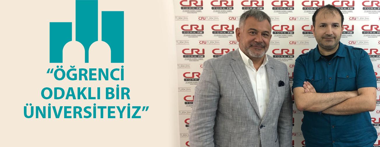 Prof.Dr. Peyami Çelikcan, Michael Kuyucu'ya Dragos Kampüsünü Anlattı