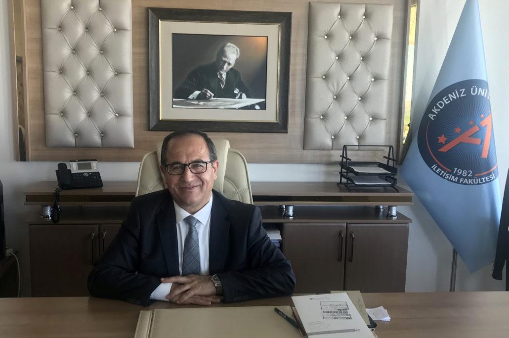 Akdeniz Ünv. İletişim Fakültesi Dekanı Ahmet Ayhan, Michael Kuyucu'nun Konuğu Oldu