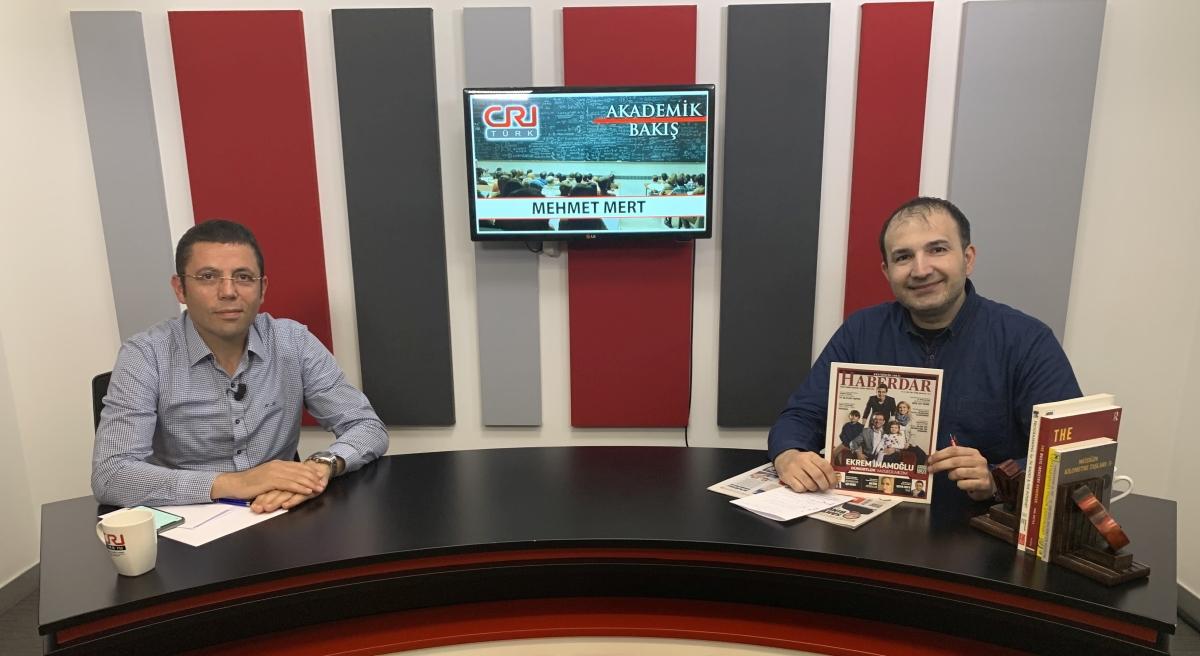İstanbul Gazeteciler Derneği Başkanı Mehmet Mert, Akademik Bakış'a Konuk Oldu