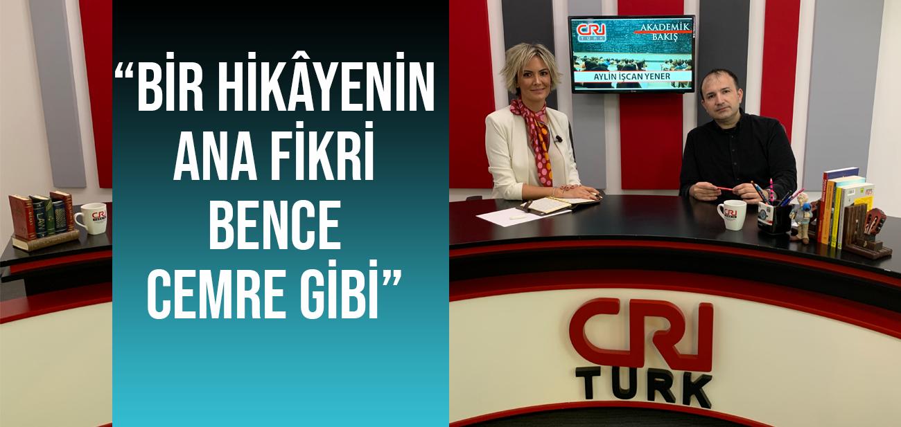 Aylin İşcan Yener Akademik Bakış'a Yazarlık Mesleğini Anlattı