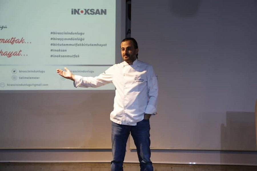 ASÜ'de ''Bir Aşçının Dünlüğü'' Söyleşisi Gerçekleşti