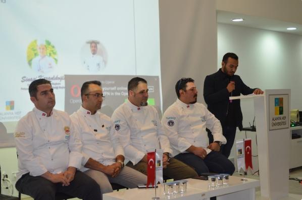 Alanya HEP Üniversitesi bünyesinde Gastronomi Sektörü tanıtım semineri düzenlendi.