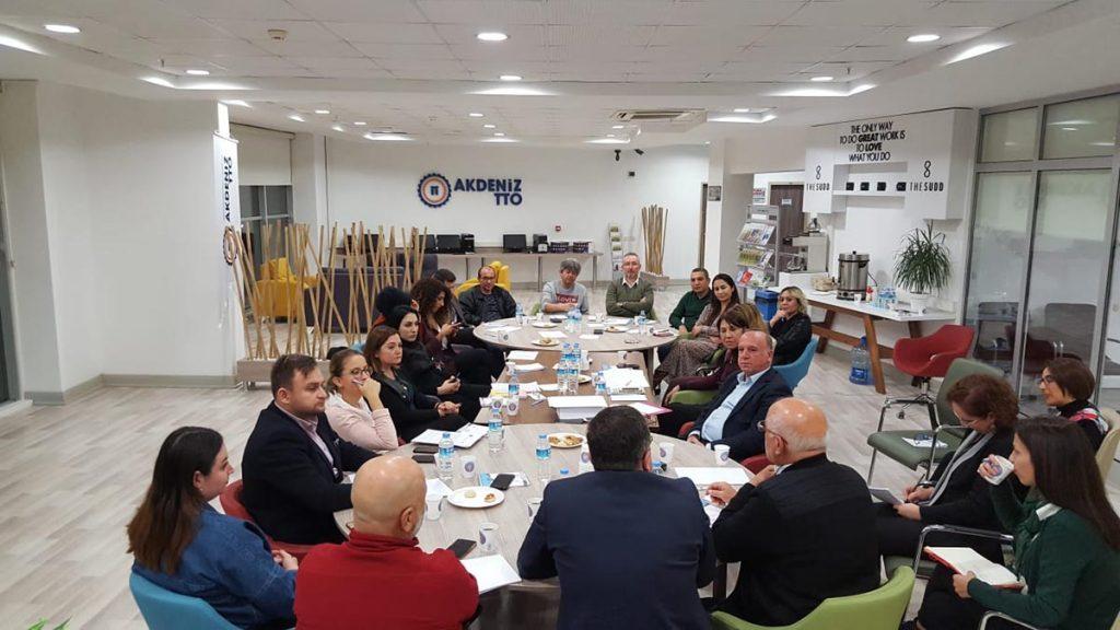 Akdeniz Üniversitesi Sektör İşbirliği Toplantısı Gerçekleştirildi