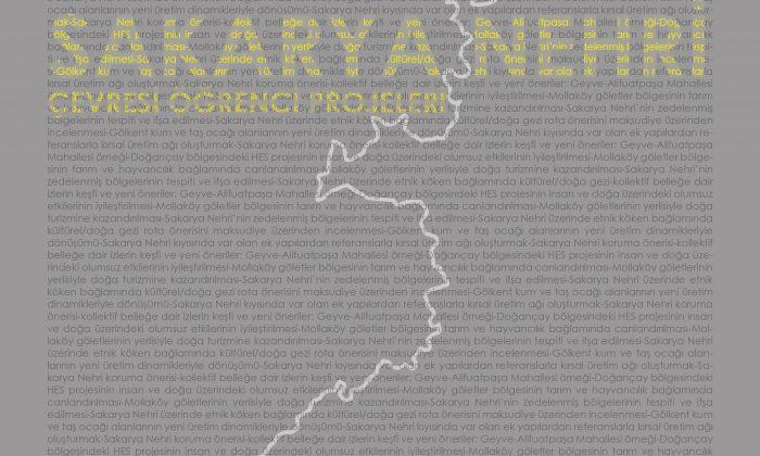 Sakarya Üniversitesi Mimarlık Bölümünden Sakarya Nehri Yerleşimlerine Yönelik Kitap