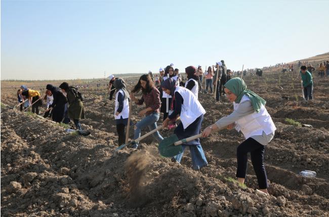 Gazi'den 'Geleceğe Nefes' Kampanyasına Destek