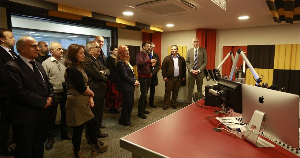 Galatasaray Üniversitesi – İletişim Fakültesi'nin Yenilenen Uygulama Birimleri Açıldı