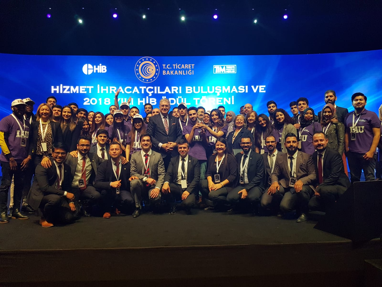 İAÜ  Türkiye'nin En Büyük 500 Hizmet İhracatçısında Birinci Oldu