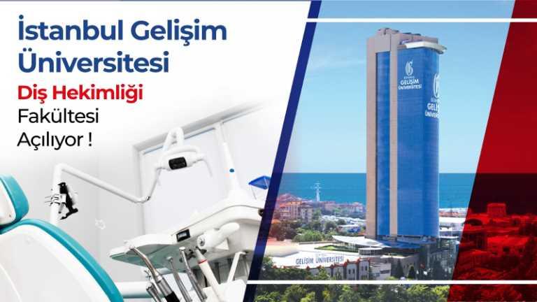 İstanbul Gelişim Üniversitesi (İGÜ) Diş Hekimliği Fakültesi kuruldu.