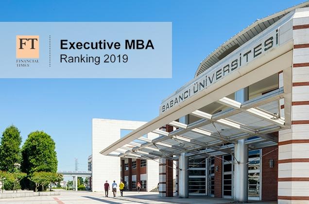 Sabancı Üniversitesi Executive MBA Programı dünyanın en iyileri arasında