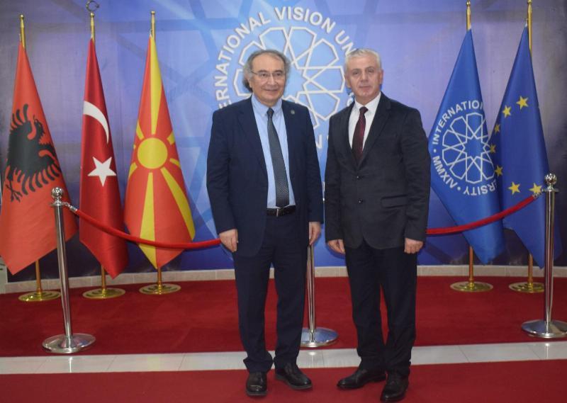 Üsküdar Üniversitesi ile Uluslararası Vizyon Üniversitesi arasında akademi işbirliği protokolü imzalandı