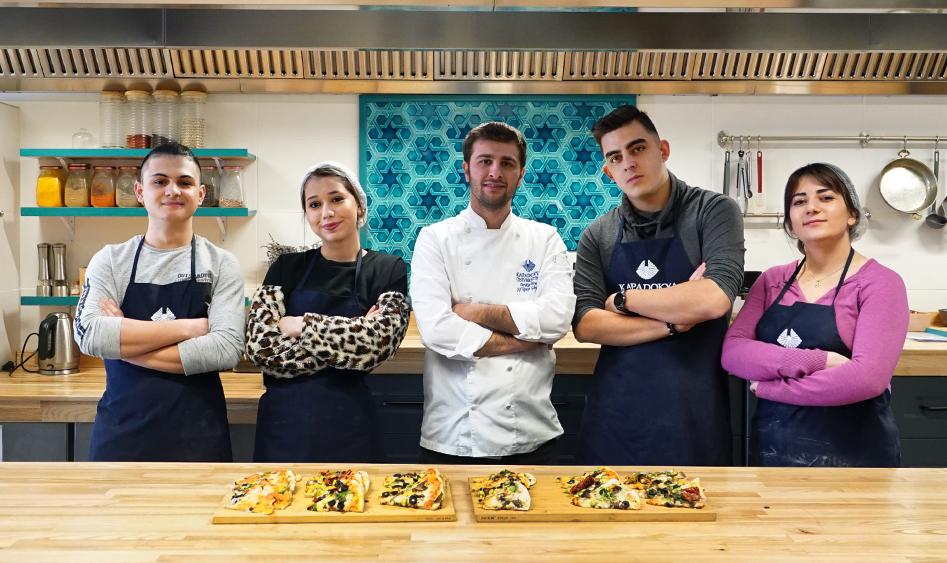Kapadokya Üniversitesi – Lise Öğrencilerine İtalyan Mutfağı Atölyesi