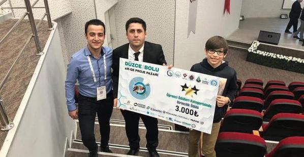 Arel Üniversitesi – Düzce-Bolu AR-GE Proje Pazarından 1.'lik Ödülü