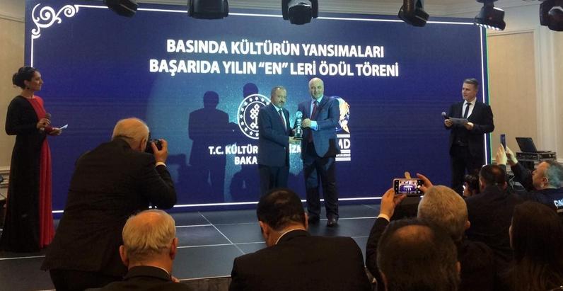 """Zonguldak Bülent Ecevit Üniversitesi – Dünya Basın Mensupları Derneği'nden 'Başarıda Yılın """"En""""leri Ödülü'"""