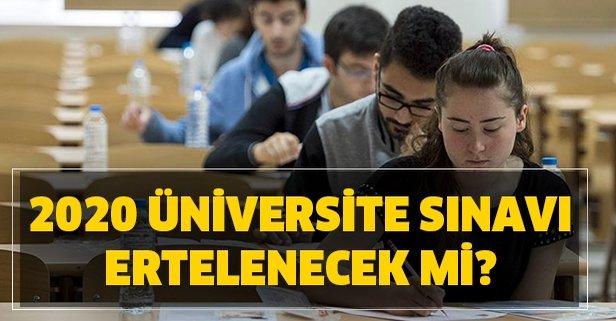 2020 YKS TYT AYT Üniversite Sınavı Ertelenecek mi?