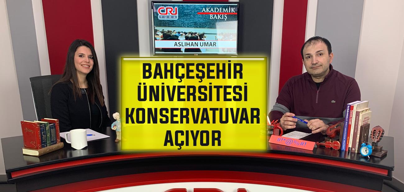 Aslıhan Umar Bahçeşehir Üniversitesinin Açacağı Konservatuarı Anlattı