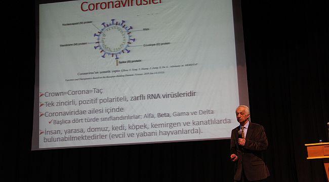 Fırat Üniversitesinde Coronavirüs Bilgilendirme Toplantısı Düzenlendi
