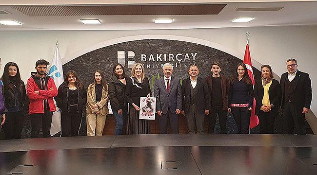 Hayvan Dostlarından İzmir Bakırçay Üniversitesine Ziyaret