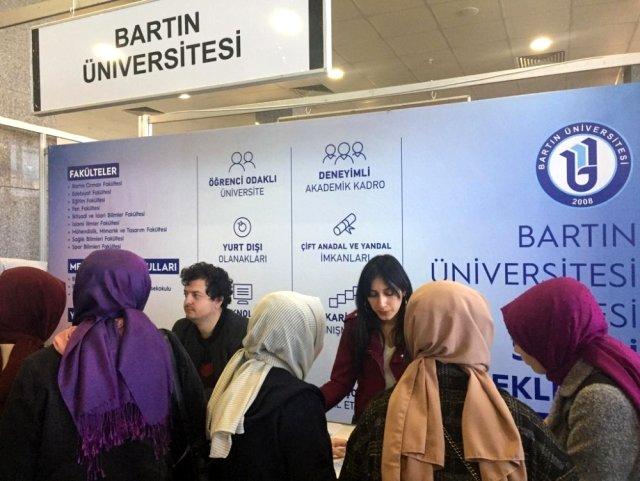 Öğrenciler Bartın Üniversitesini Tanıttı