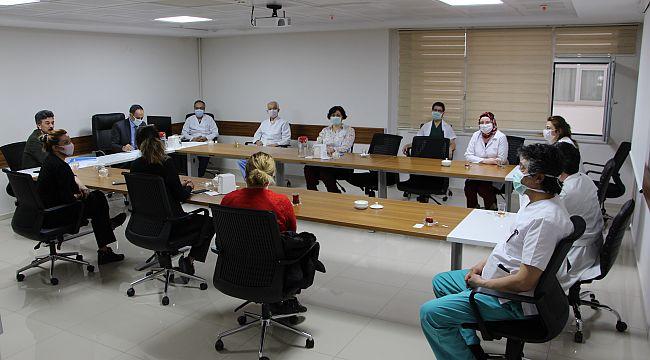 FÜ Hastanesinde Pandemi Kurul Toplantısı Gercekleştirildi