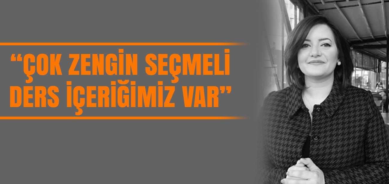 Dr. Ayşegül Elif Çaycı: Daha Çok Sinemaya Yönelik Derslerimiz Var