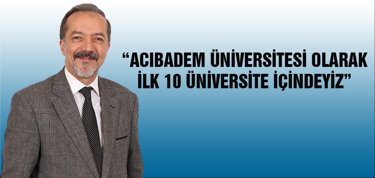 """Prof. Dr. İrfan Güney """"Akademik Bakış""""a Konuk Oldu"""