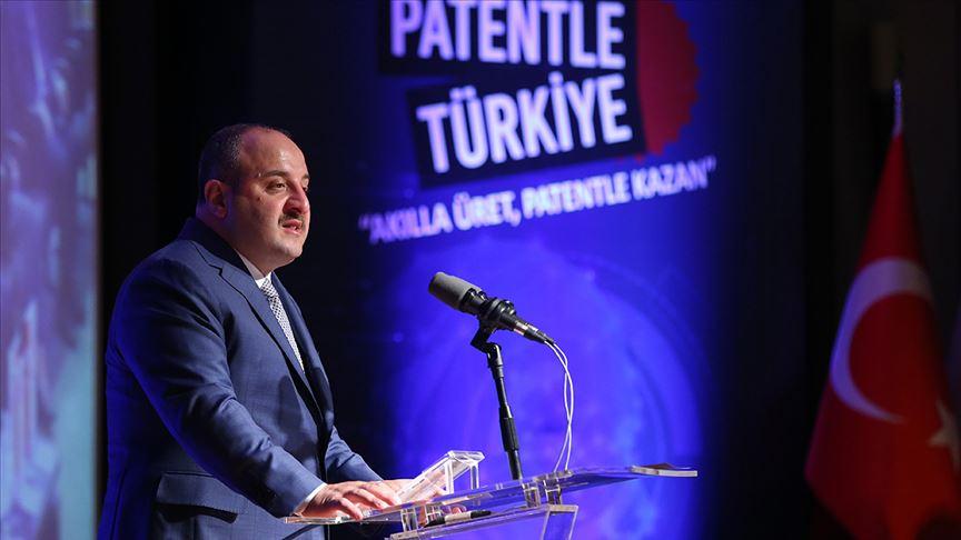 Sanayi ve Teknoloji Bakanı Varank: Uluslararası patent başvurularında dünyada 13. sıraya yükseldik