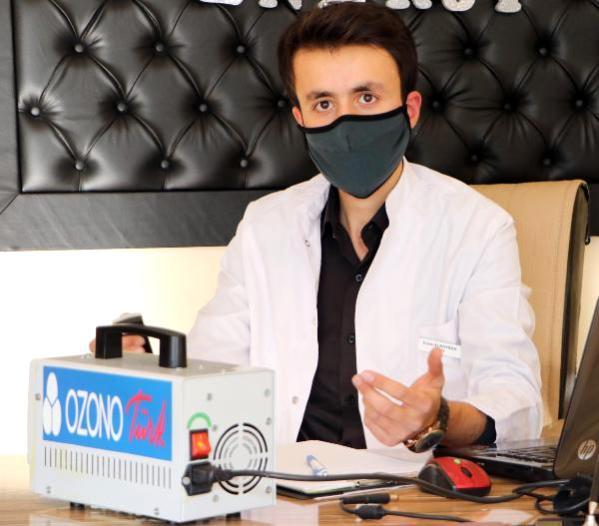 Diş fakültesi öğrencisinin ürettiği OzonoTürk Covid-19'la savaşacak