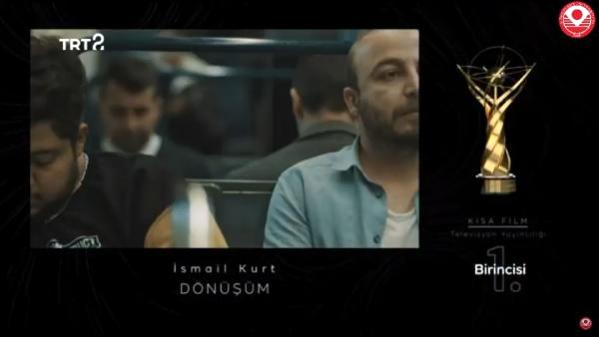 'Dönüşüm' kısa film dalında ödül aldı