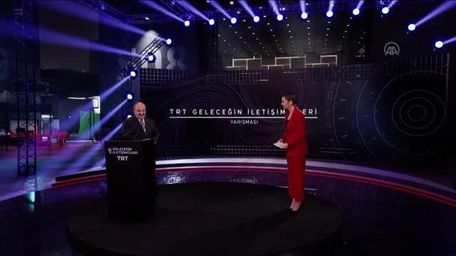"""""""TRT Geleceğin İletişimcileri Yarışması""""nda ödüller sahiplerini buldu"""