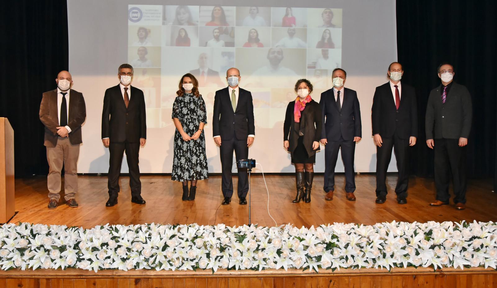 Marmara Üniversitesi 2019 Akademik Yayın ve Proje Ödülleri Töreni Gerçekleştirildi
