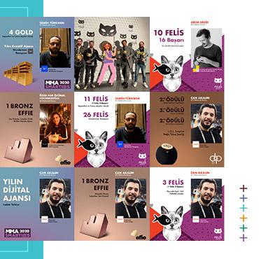 KHAS Reklamcılık Bölümü'ne Ödüller Yağıyor!