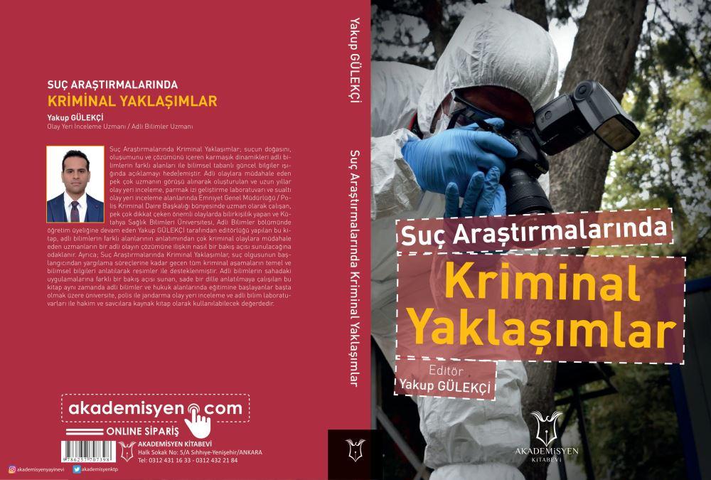 KSBÜ Adli Bilimler Bölümünden Kitap Çalışması