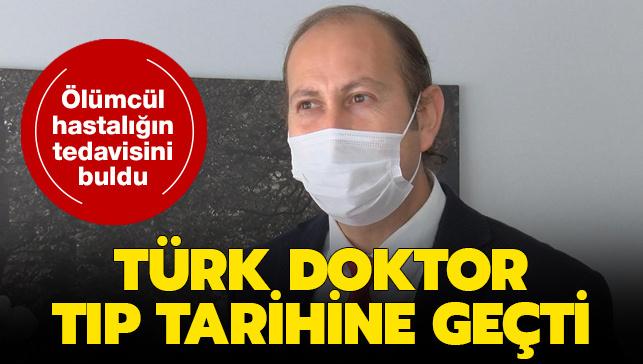 Prof. Dr. Ahmet Oğuzhan Özen'den Tarihi Başarı