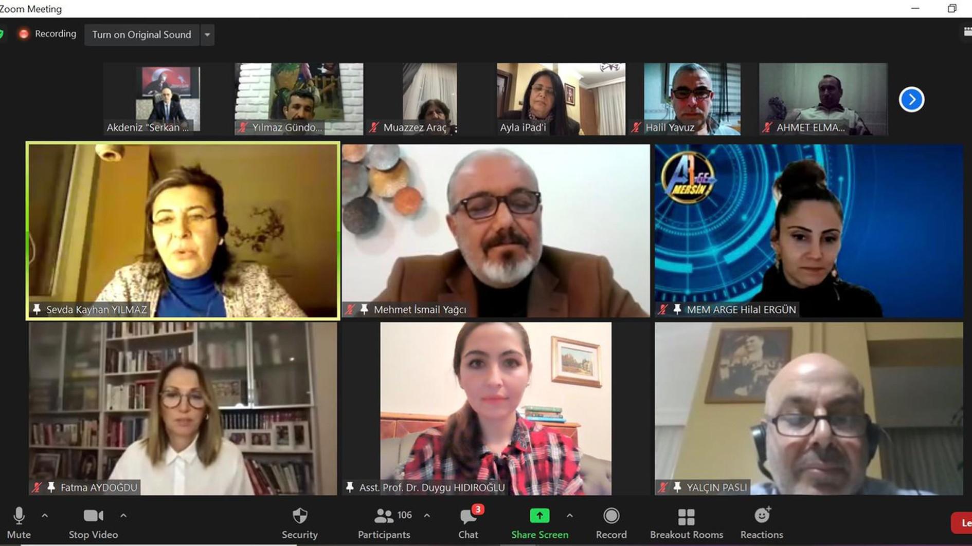 Mersin Üniversitesi Genç Girişimci Uygulama ve Araştırma Merkezi'nden Bir İlk Daha