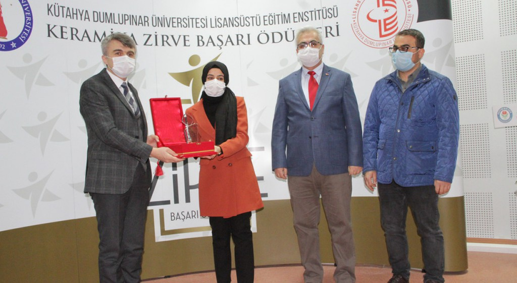 DPÜ'de Keramika Zirve Başarı Ödülleri