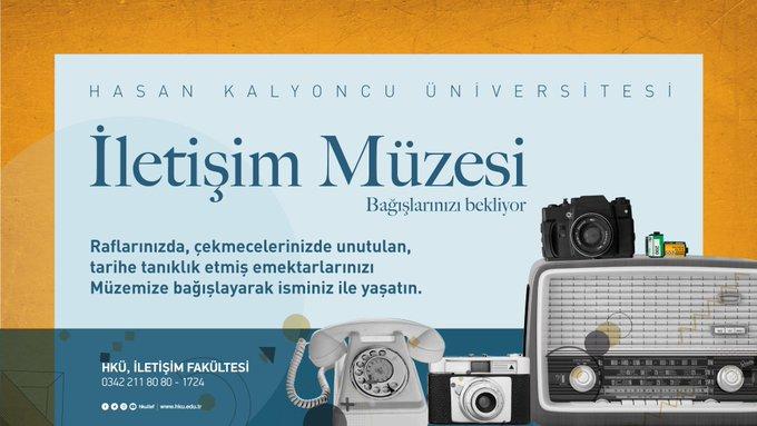 HKÜ İletişim Müzesi Bağışlarınızı Bekliyor!