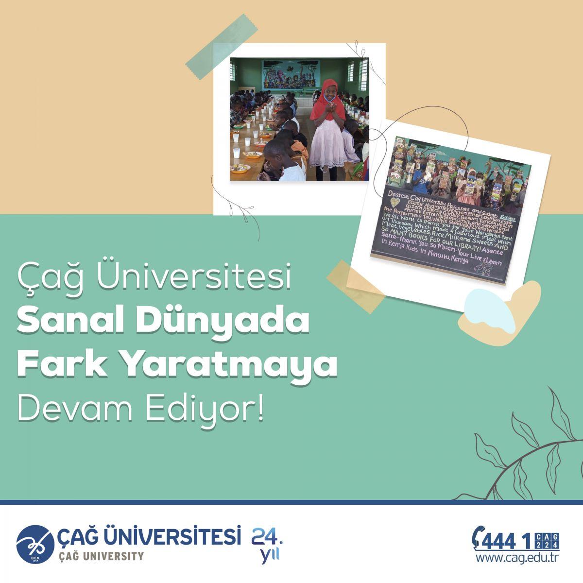 Çağ Üniversitesi Sanal Dünyada Fark Yaratmaya Devam Ediyor!