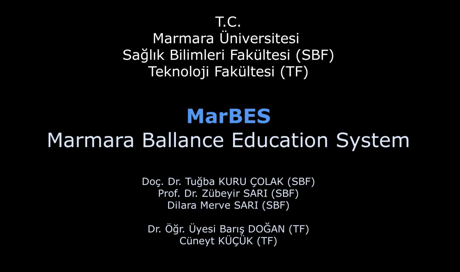 Marmara Üniversitesi Öğretim Üyeleri Denge ve Koordinasyon Eğitim Cihazı Geliştirdi