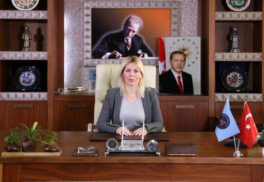 Akdeniz Üniversitesi Rektörü Prof. Dr. Özlenen Özkan'dan Kadınlar Günü Mesajı