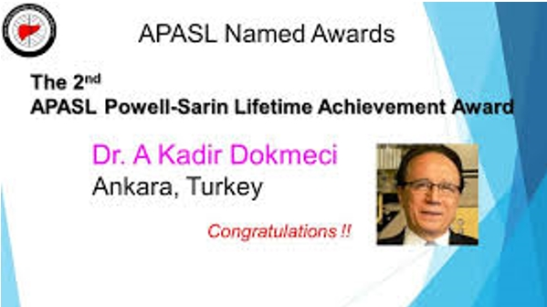 Prof. Abdülkadir Dökmeci'ye Yaşam Boyu Başarı Ödülü