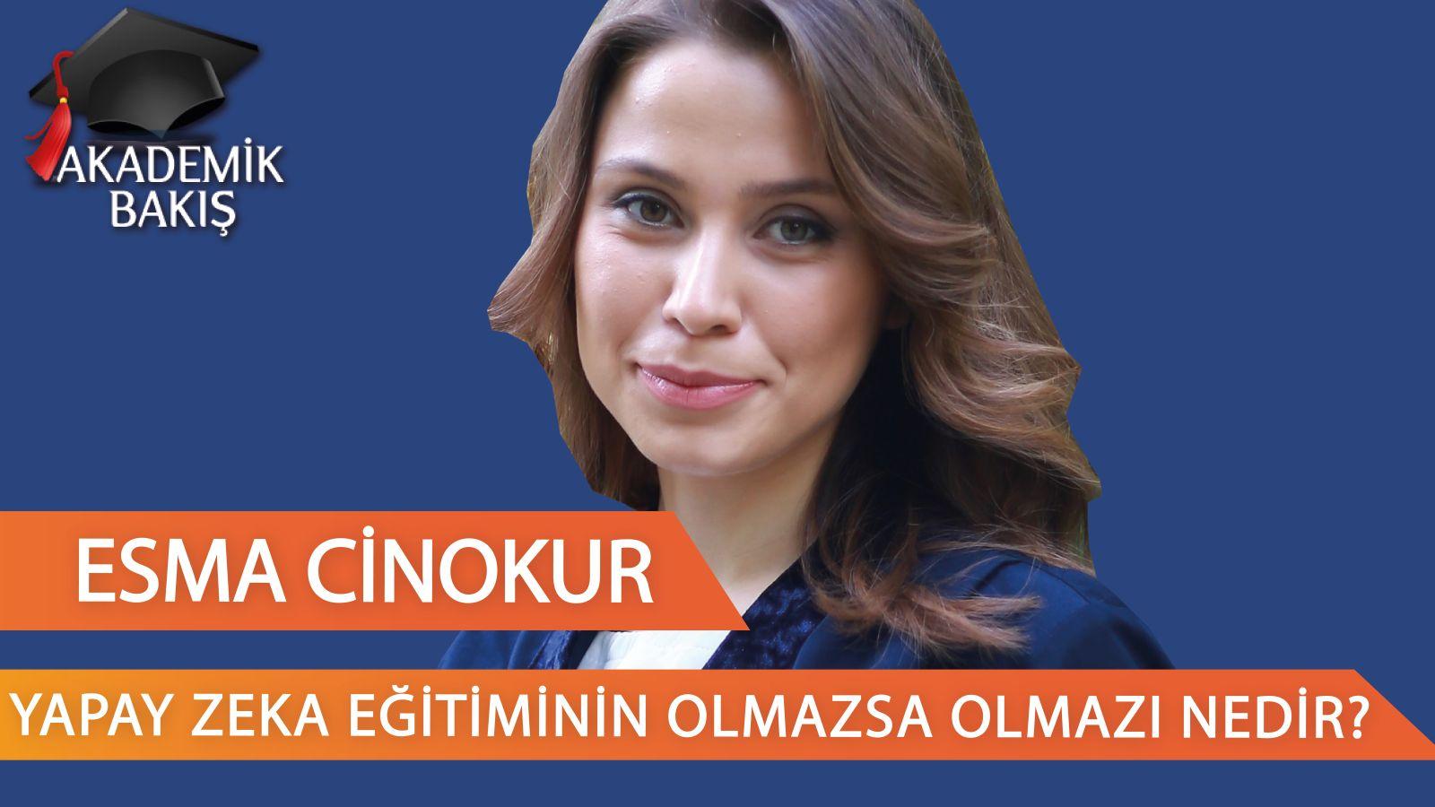 Esma Cinokur, Michael Kuyucu'ya YAPAY ZEKA Eğitimini Anlattı