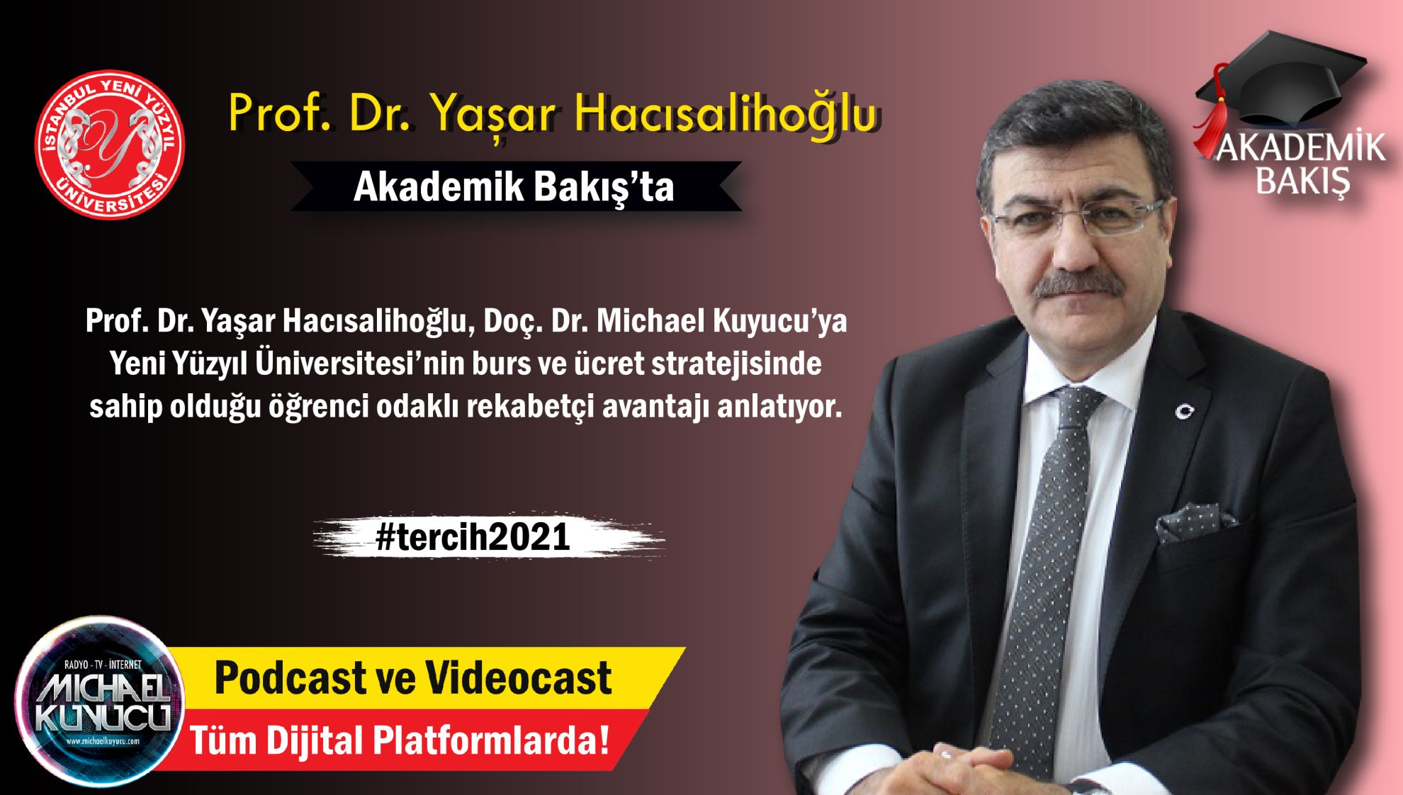 Prof. Dr. Yaşar Hacısalihoğlu: Üç Tane Yurtla Anlaşma Yaptık